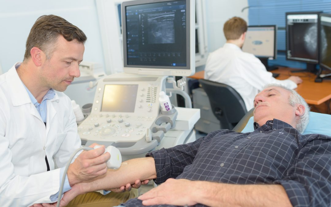 Can ultrasound distinguish between CIDP and other neuropathies?